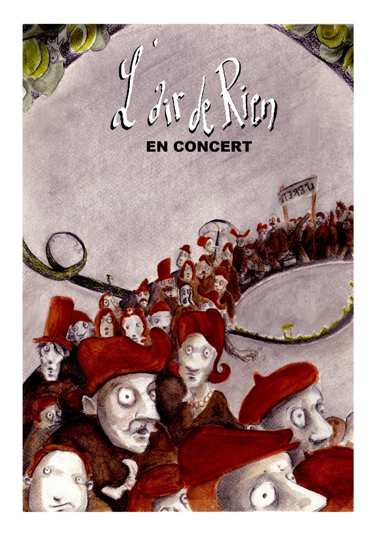 L'air de ien - Affiche Concert